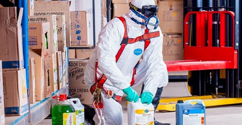 Prévention des risques dans le secteur de la propreté