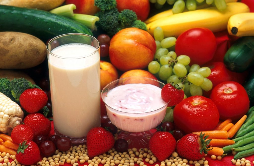 Une alimentation saine et équilibrée