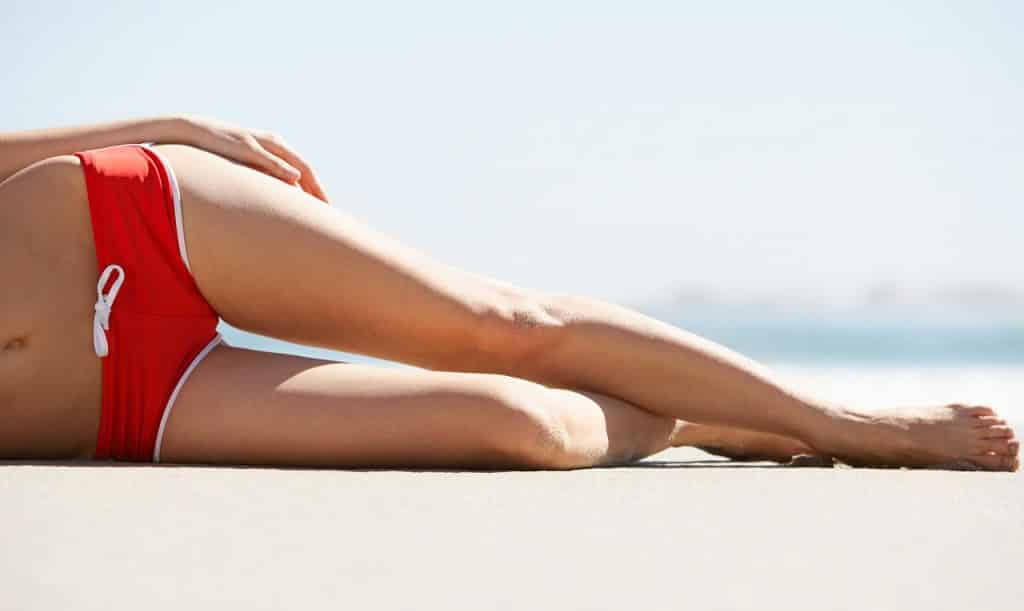 Des jambes sans cellulite tonifiées par le sport