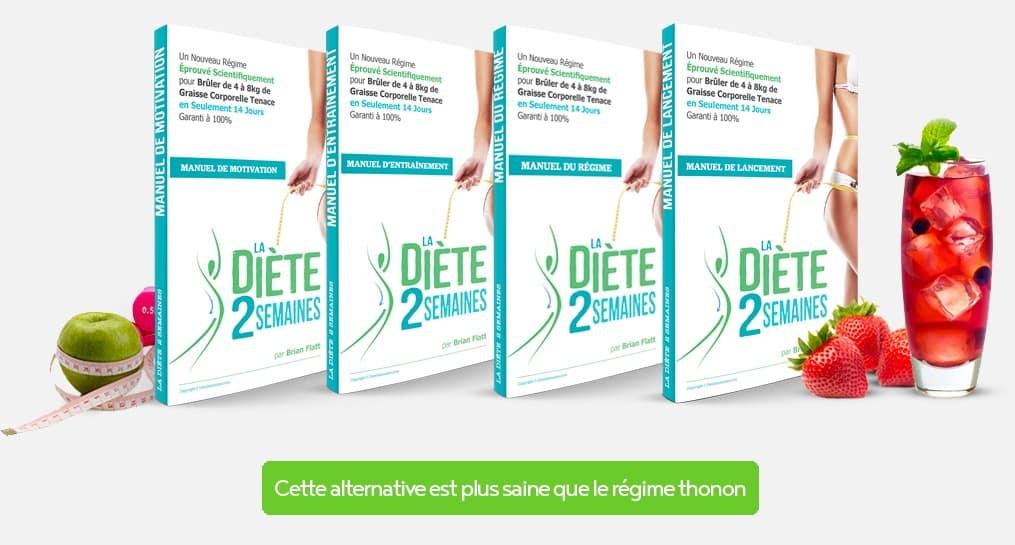 Diète 2 semaines : aleternative au régime thonon