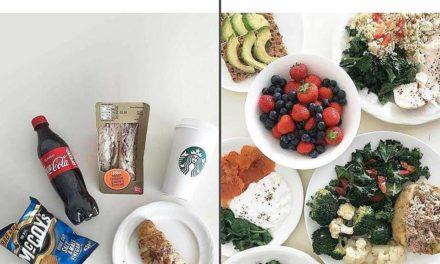 Junk food VS Repas diététique : les deux font 1600 calories