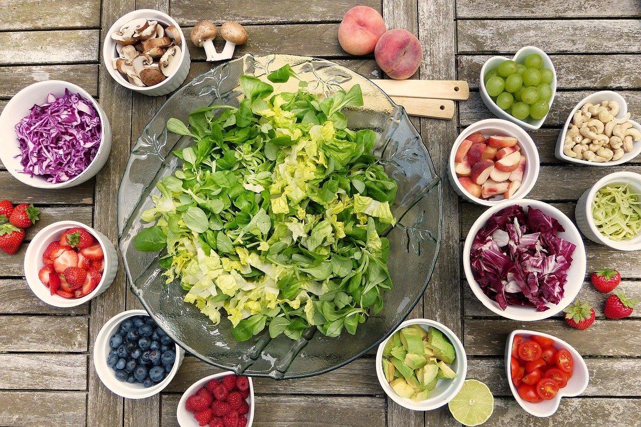 Aliments variés et équilibrés