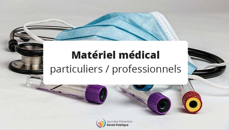 Où acheter du matériel médical selon si lon est particulier et professionnel